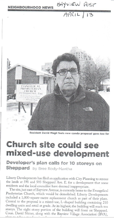 Development Proposal Makes the News